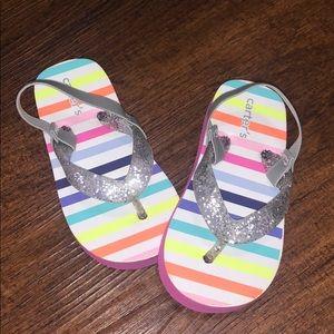 NWOT Carter's kids girl sandals
